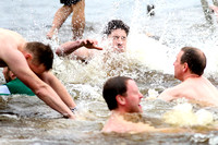 Galloon Island Charity Swim on New Years Day.