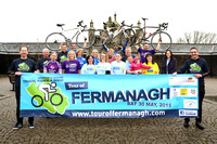 Launch of Tour of Fermanagh Cycling.