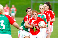 Lisnaskea (4-12) V Newtownbutler (4-6) in Ladies Intermediate GAA Football Championship Semi-Final.
