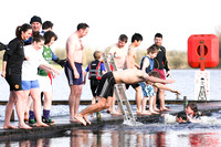 Galloon Island Charity Swim on New Year's Day.