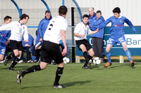 Ballinamallard United FC Reserves (3) V Queen's University (5) in Intermediate Cup, Round Four.