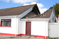 Fire at St. Pat's GAA Cluhouse Donagh.