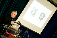 Paul Murray discusses and lectures about Bram Stoker in Enniskillen Library.