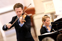 Vladimir and Olga Jablokov playing Classical Music in St. Michael's Church, Enniskillen.