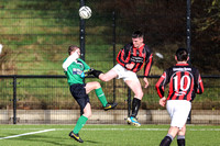 Lisnaskea Rovers (3) V Shelbourne (0) in Fermanagh and Western, Division One.