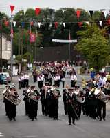 Loyalist Parade in Lisnaskea.