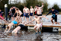 New Years Day Charity Swim at Galloon Island.-20