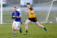 Kinawley (2-14) V Erne Gaels (1-12) in Senior GAA Football League, Division one.-4