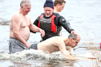 New Years Day Galloon Island Charity Swim