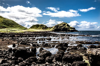 View from the Giants Causeway.