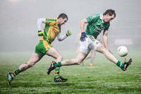 Fermanagh (2-15) V Donegal (2-07) in Dr. McKenna Cup.  Senior Men GAA Football.