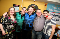 Charity Darts night starring Brendan Dolan in aid of the Childrens Heart Centre in Crumlin.