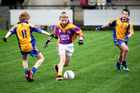 Enniskillen V Derrygonnelly in U12 GAA Football Final.