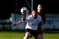 Fivemiletown United (0) V Banbridge YCOB (1) in Marshall Cup.