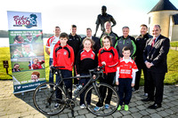 Bike 1630 meet Kerry GAA Team Backroom staff.