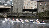 Head of the River Boat Race taking Place on the River Erne in Enniskillen, County Fermanagh.